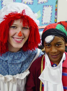 Sidebar Image 01 - Dress Up Day - clown suit teacher and...